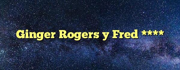 Ginger Rogers Y Fred Respuestas Codycross